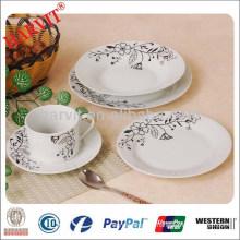 Round Porcelain Dinner Set A Grade