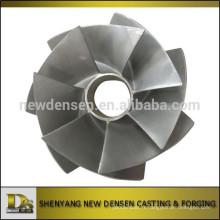 Roue sans enveloppe personnalisée en acier inoxydable pour l'utilisation de la pompe