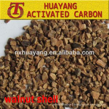 Oil removal 90-95% dry/plastic walnut shell filter media