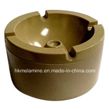 Runde Melamine Windproof Aschenbecher mit Deckel (AT5886)