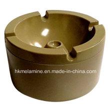 Cendrier rond en mélamine coupe-vent avec couvercle (AT5886)