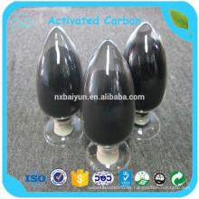 180/200/320 Mesh Top Sale planta de carbón activado de madera con precio bajo