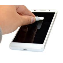 Nettoyant d'écran mobile autocollant microfibre respectueux de l'environnement