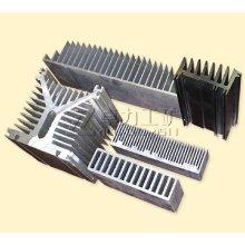 Perfil de dissipador de calor de alumínio CNC