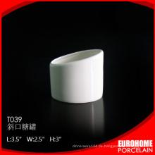 einzigartige Produkte 2016 aus China Porzellan Zuckerdose