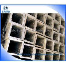 Tubos de aço sem costura de carbono quadrado 40 * 40
