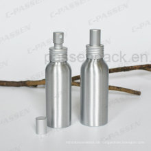 Aluminium-Kosmetik-Parfüm-Verpackungsbehälter mit Sprühpumpe (PPC-ACB-053)