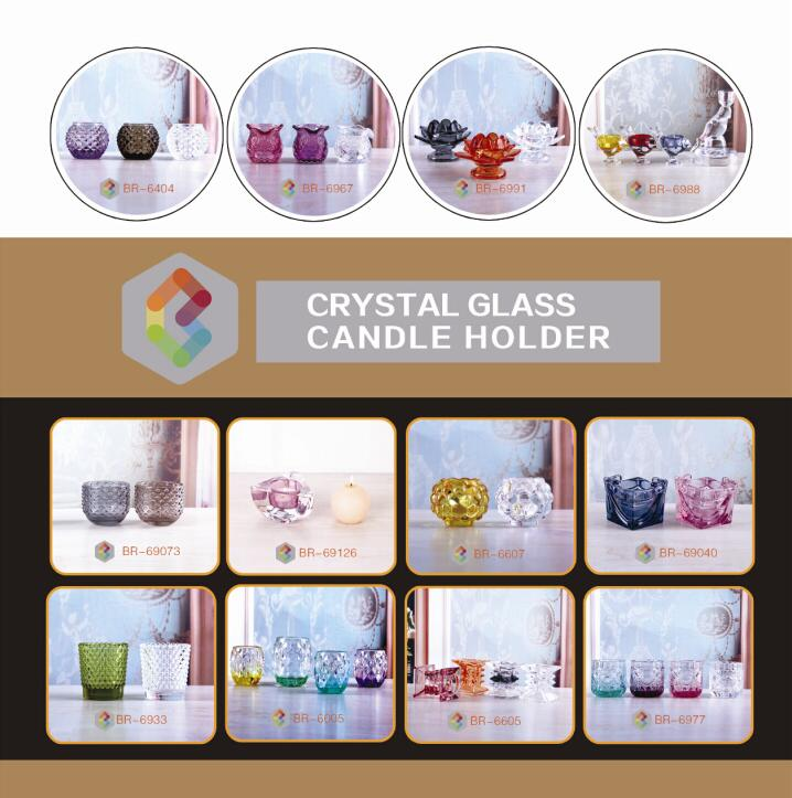 Mercury Glass Candle Holder For Decoration more items