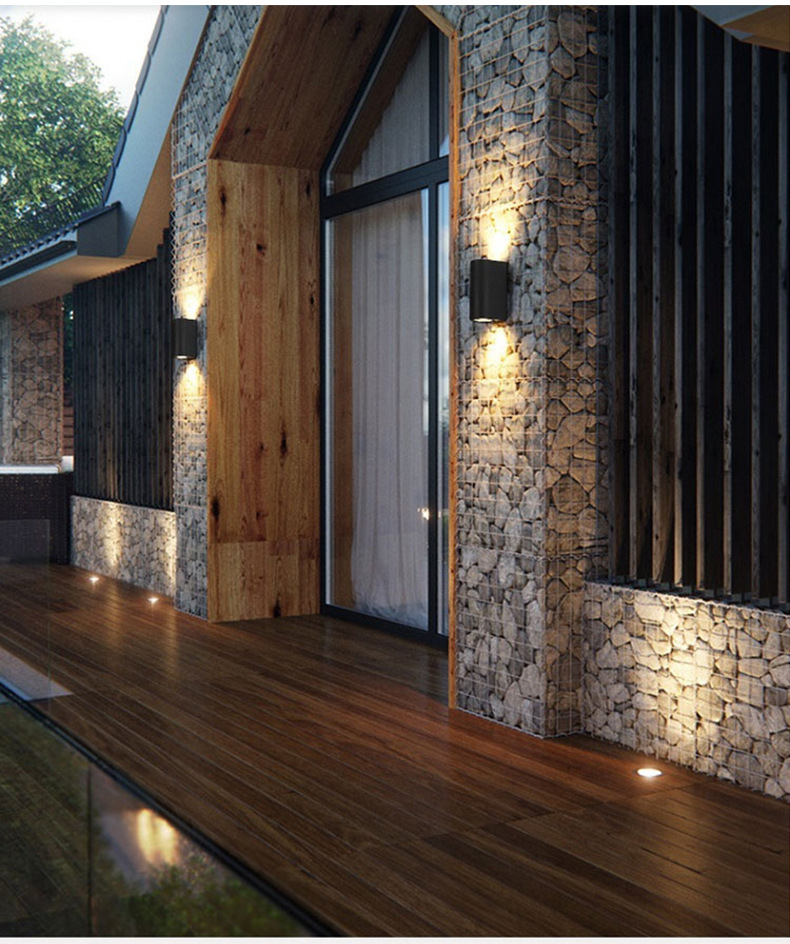 led wall light for outdoor