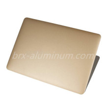 Golden Sandblasted Anodized Aluminum Sheet