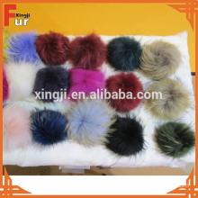 2014 hotsale fashion raccoon fur pompon