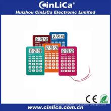 2014 colorful calculator , calculator with alarm clock,gift calculator wtih rope CA-89