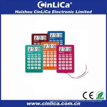 2014 красочный калькулятор, калькулятор с будильником, подарочный калькулятор с веревкой CA-89