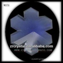 colar de cristal W076