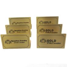 Promotion High Quality Custom Stainless Steel Aluminum Desk Laser Engraving Name Plate Holder