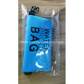 Outdoor Sports Foldable Roll Top PVC 2L Waterproof Custom Dry Bag