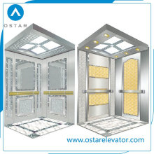 Hairline Etching S. S Cabin for Passenger Elevator, Elevator Parts (OS41)