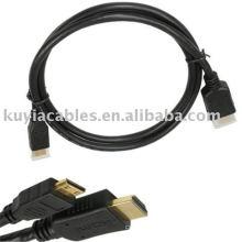 Тип C Mini Hdmi cable 5ft Подключите ваши портативные DV, камеры, игровые консоли к телевизору высокой четкости с истинным подключением HD!