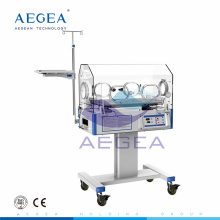 Movable with wheels for nursing healthcare medication baby incubator for sale
