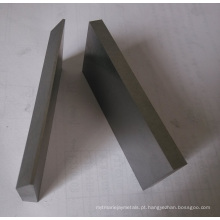 Peças sobresselentes necessárias especiais da forma e do tamanho do carboneto de tungstênio