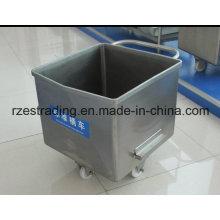 Stainless Steel Meat Trolley (Buggy, Bin, Cart) 200L