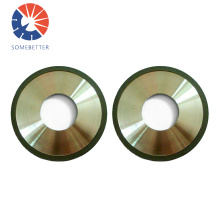14A1 350mm Vitrified Bond diamond grinding wheel for PCD tools grinding with cylindrical grinding machines