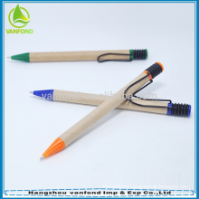 Good quality eco-friendly recycled cardboard pen for promotion