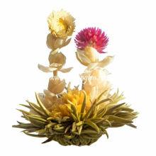 Long Feng Xi Zhu verde de floración de té-BMG070