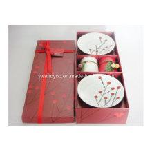 Bougie parfumée aux fruits rouges de Noël