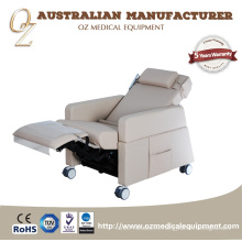 Silla multifuncional eléctrica de la silla de la transfusión de la silla de la transfusión de la silla de la donación de sangre del ISO multi de la ISO