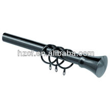 C19100 adjustable ,extendable curtain rod curtain pole with metal brackets and rings , home decoration, curtain accessories