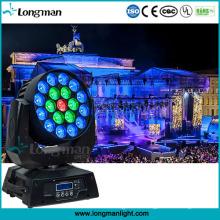 Bewegliche Befestigungen RGBW 4in1 19X15W LED waschen Zoom-Licht