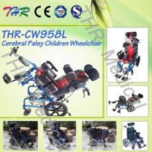 Silla de ruedas para niños con parálisis cerebral