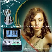Analyseur de peau faciale du cuir chevelu HD de peau de détecteur de peau de 9 pouces, huileuse, acné, eau, et coiffure entièrement examinée