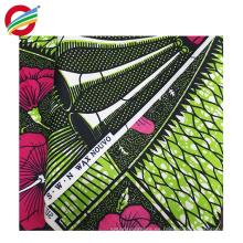 La cera africana resistente al encogimiento imprime la tela de la ropa para la venta