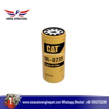 Partes del motor Cat filtro de aceite Lub 1R0739