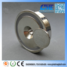 N42 Topf Dia 6 0 X15 mm M8 Senkkopf NdFeB Permanent Magnet