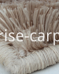 Detail of Polyester Imitation Fur Rug 2