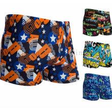 Shorts feitos sob encomenda dos homens do poliéster da forma que nadam o roupa de banho do desgaste