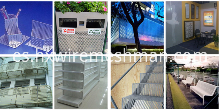 perforated metal mesh use