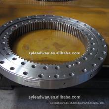 Rolamento de giro do rolo transversal de baixo torque com engrenagem externa