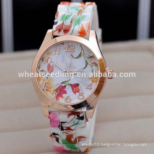 New arrival candy color silicone watch