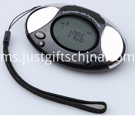 Customized Body Flat Analyzer Pedometer