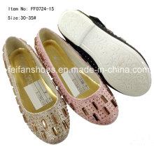 Zapatos de niño Zapatos de princesa Zapatos individuales Zapatilla chica (FF0724-5)
