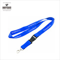 Пользовательский дешевый полиэфирный шнур с шелкографической печатью
