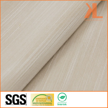 Polyester Home Textile Inherently Fire / Flame Retardant Fireproof Cream Sofa Fabric