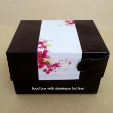 Aluminiumfolie Lebensmittelpapierkasten