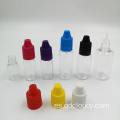 Botellas cuentagotas líquidas PET COLOR E de 15 ml