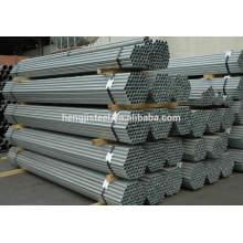 tianjin sch80 galvanized pipe/galvanized pipe
