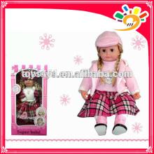 B / O Englisch Sprechende Puppe, Sprechende Mädchenpuppe für Baby frühes Learing